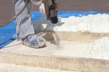 Commercial spray foam insulation in Braintree by HomeCore, LLC