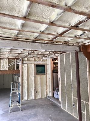 Spray Foam insulation in Norwell, MA (1)