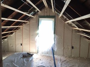 Spray Foam Installation in West Roxbury, MA (2)