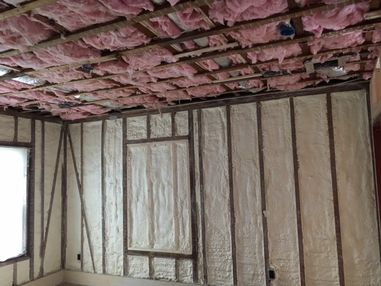 Spray Foam Installation in Milton, MA (2)