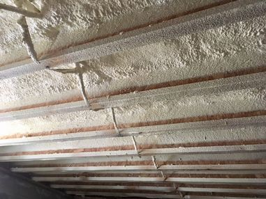 Crawl Space Ceiling Foam Insulation in Plum Island, MA (2)
