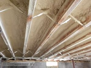 Crawl Space Ceiling Foam Insulation in Plum Island, MA (3)