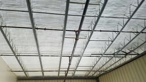 Warehouse Closed Cell Spray Foam & Intumescent Paint in Northborough, MA (1)