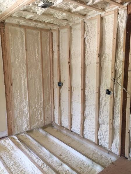 Spray Foam for Kitchen Addition in Quincy, MA (5)