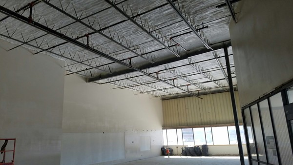 Warehouse Closed Cell Spray Foam & Intumescent Paint in Northborough, MA (5)